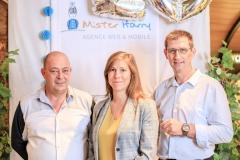 Wladimir Malinge, Carole Chaudat et Fabien Ducrozant (D.hygi.pro)