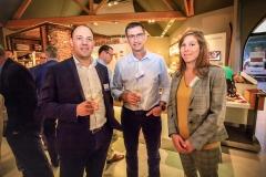 Benoit Thibert (Inforgestion), Fabien Ducrozant et Carole Chaudat (D.Hygi.Pro)
