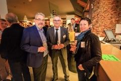Pascal Tournier (i-Com), Alain Gauthey (KPMG) et Mariélys Lorthios (i-Com)