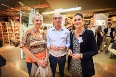 Laurence Goujon (Comité Foires Mâcon), Jean-Bernard Pieuchot (BVV) et Emilie Aujas