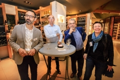 Julien Farama (Mairie de Tournus), Jean-Bernard Pieuchot (BVV), Pascal Tournier et Mariélys Lorthios (i-Com)