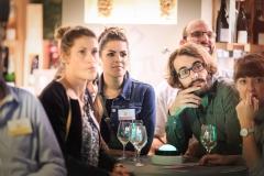 Emilie Aujas, Adriane Perrin (Agence Immobilière de l'Abbaye), Florent Poux (Seven Pixels) et Céline M