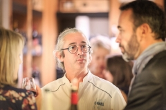 Olivier Perrot (Restaurant le Terminus) et Didier Turck (Karenita)
