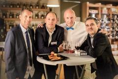 Fabrice Guy (Universki), Fabien Thibert (Inforgestion), Claude Poux et Jean-Michel Ferreira (Inforgestion)