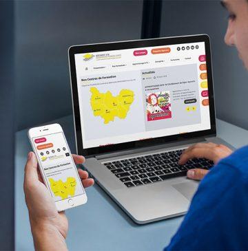 site internet responsive Bâtiment CFA Bourgogne Franche-Comté